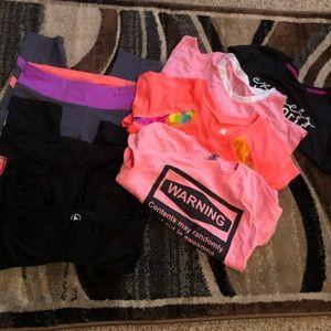 Bundle Costumes - #D12 Girls Dance Bundle Sz S (7-8) 7 pc
